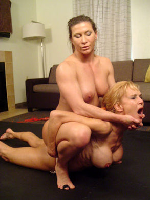 JMR-3009DL  THE CONTROLLING POSITON Tanya vs. Ariel X Wrestling/Erotic Domination Download