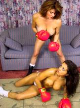 JMR-030DL  A MATTER OF HONOR  Tori vs. Francesca Boxing