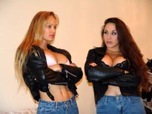 JMV_003DVD  BIKER CATFIGHT 1 & 2