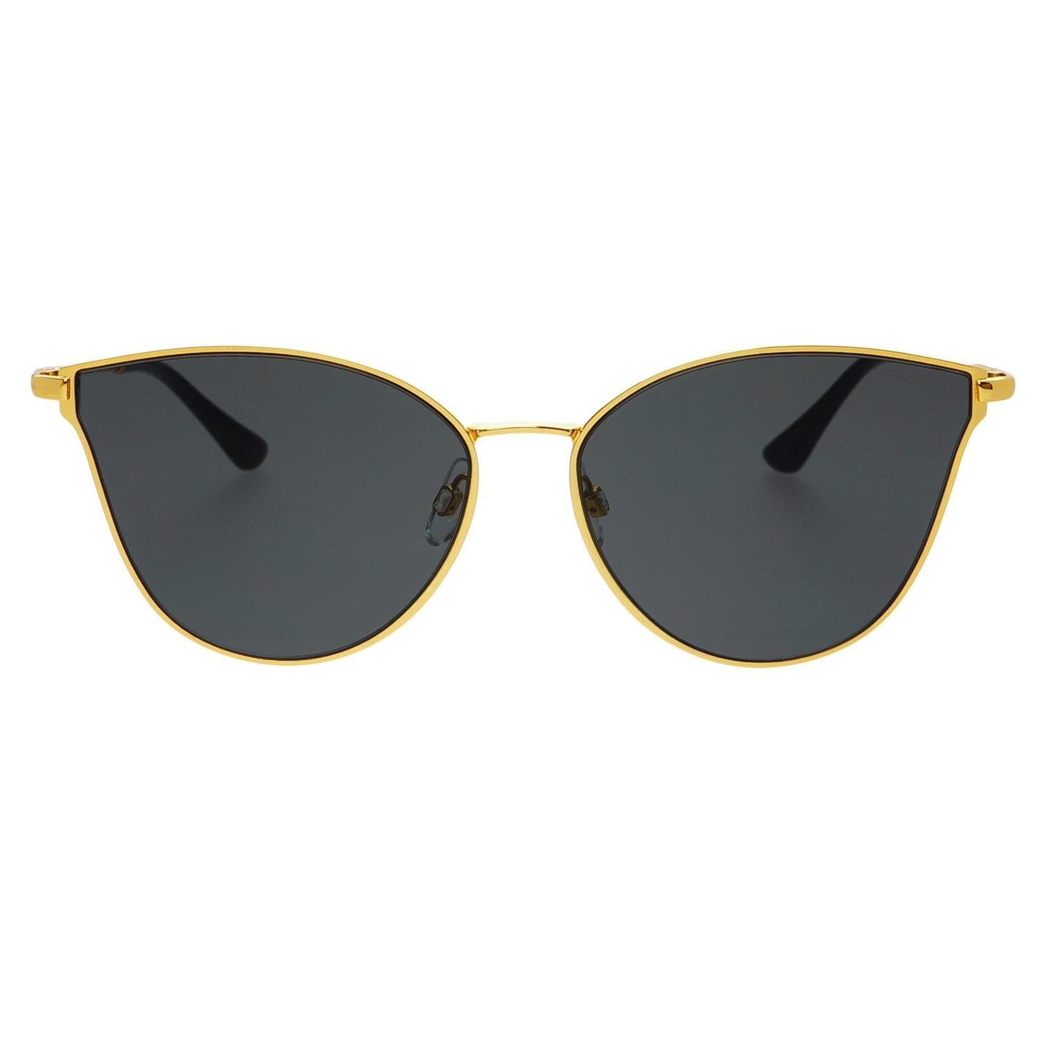 b4fcc3fe7618d Ivy by FREYRS - Black and Gold Modern Cat Eye Sunglasses – SHAY + james