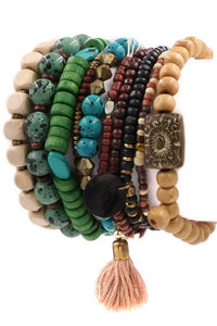Shades of Earth Boho Bracelets