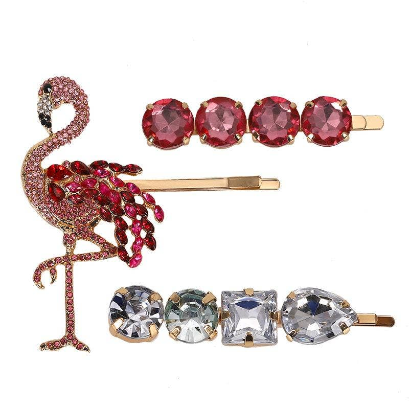Pink Flamingo Hair Pin