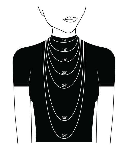 Lucite Faceted Layered Neclace