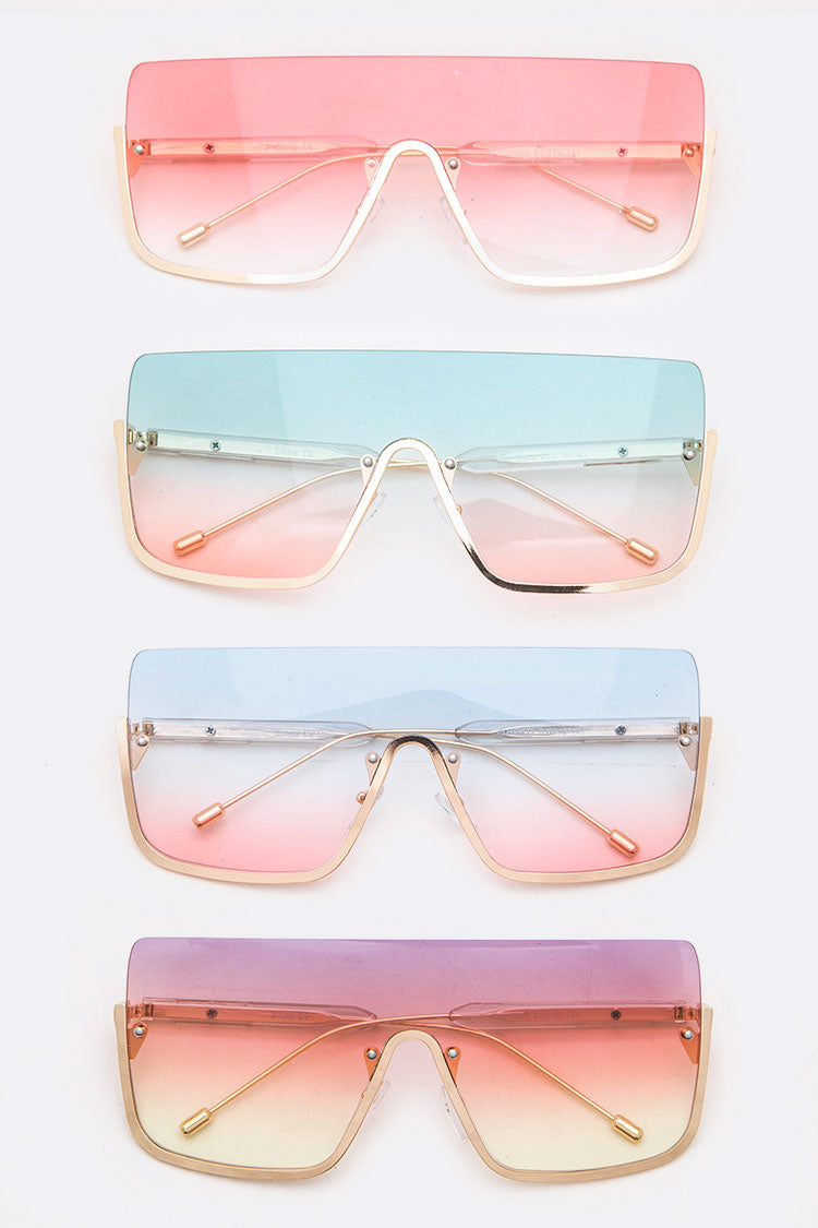 Ombre Shield Sunglasses