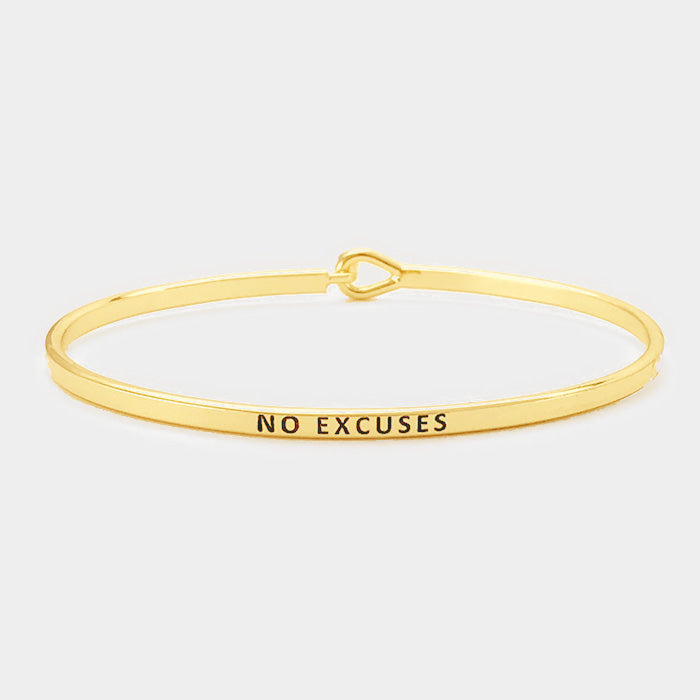 No Excuses Bracelet