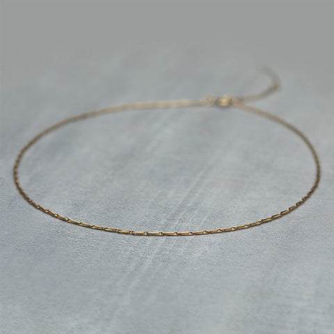 Array Necklace - Solid gold