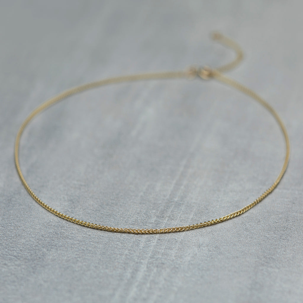 Torus Necklace - Solid gold