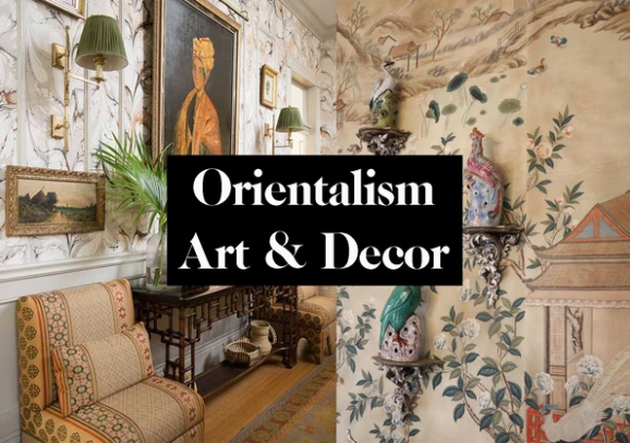 Mood Orientalism, Art and Home Decor