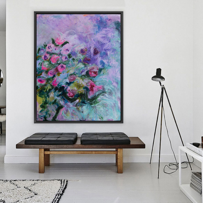 "Art Print of ""Flowers in Spring I"", Flower Art"