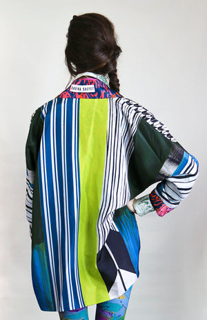 Silk Kimono, Collector piece - Davina Shefet Art Store