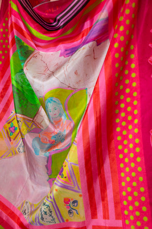 Silk Scarf of The Bohemian Palace