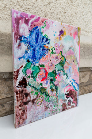 Flowers and Poetry IV - Abstract Painting