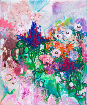 Flowers and Poetry VIII - Abstract Painting