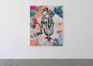 Contemporary Art Print, Nude - Davina Shefet Art Store