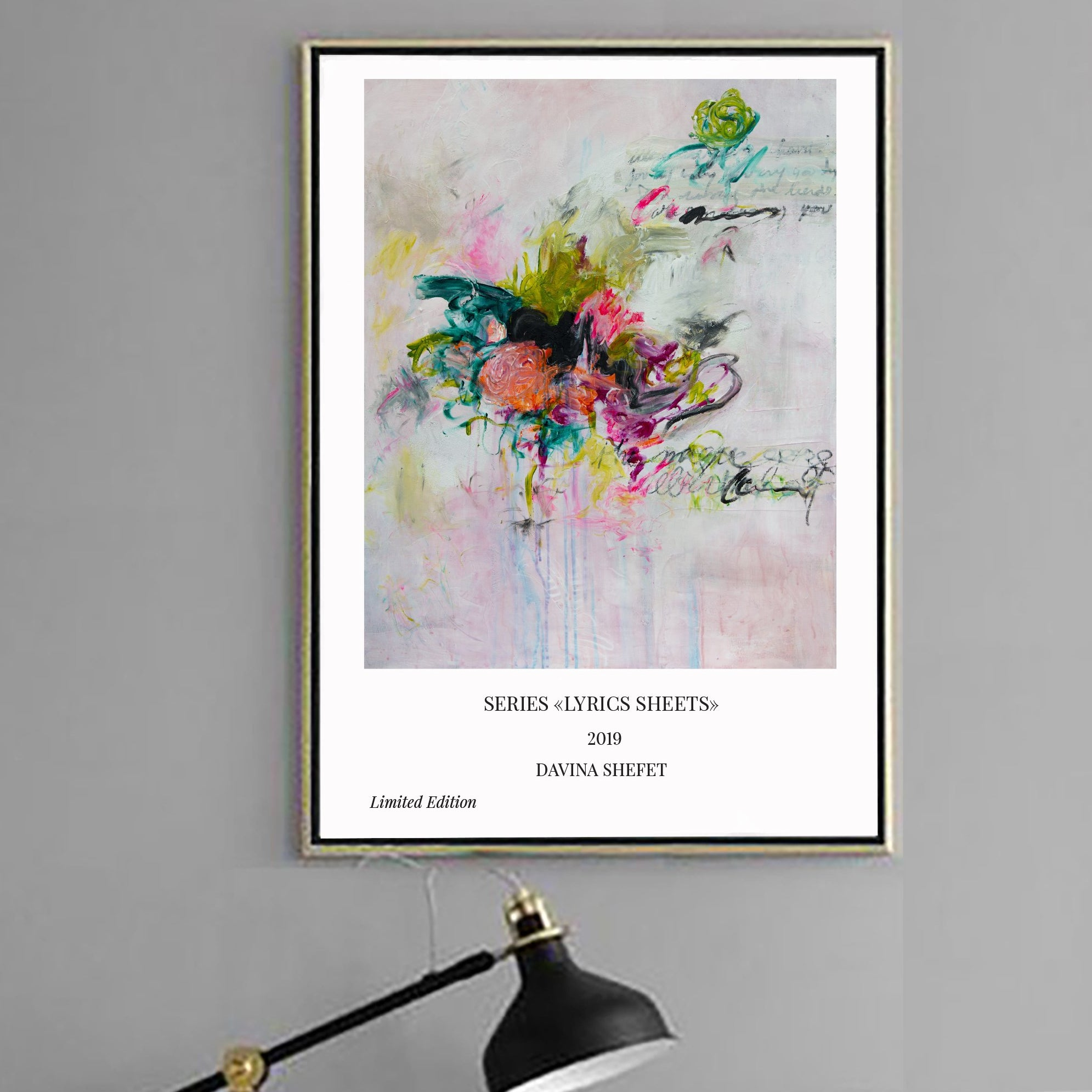 Abstract Art Print, Minimal Art Print - Davina Shefet Art Store