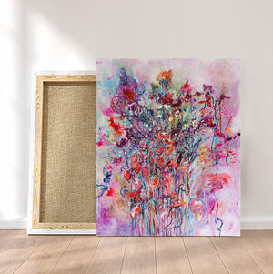 "The Big Bouquet, Series ""The Magic in Flowers"", Original painting"