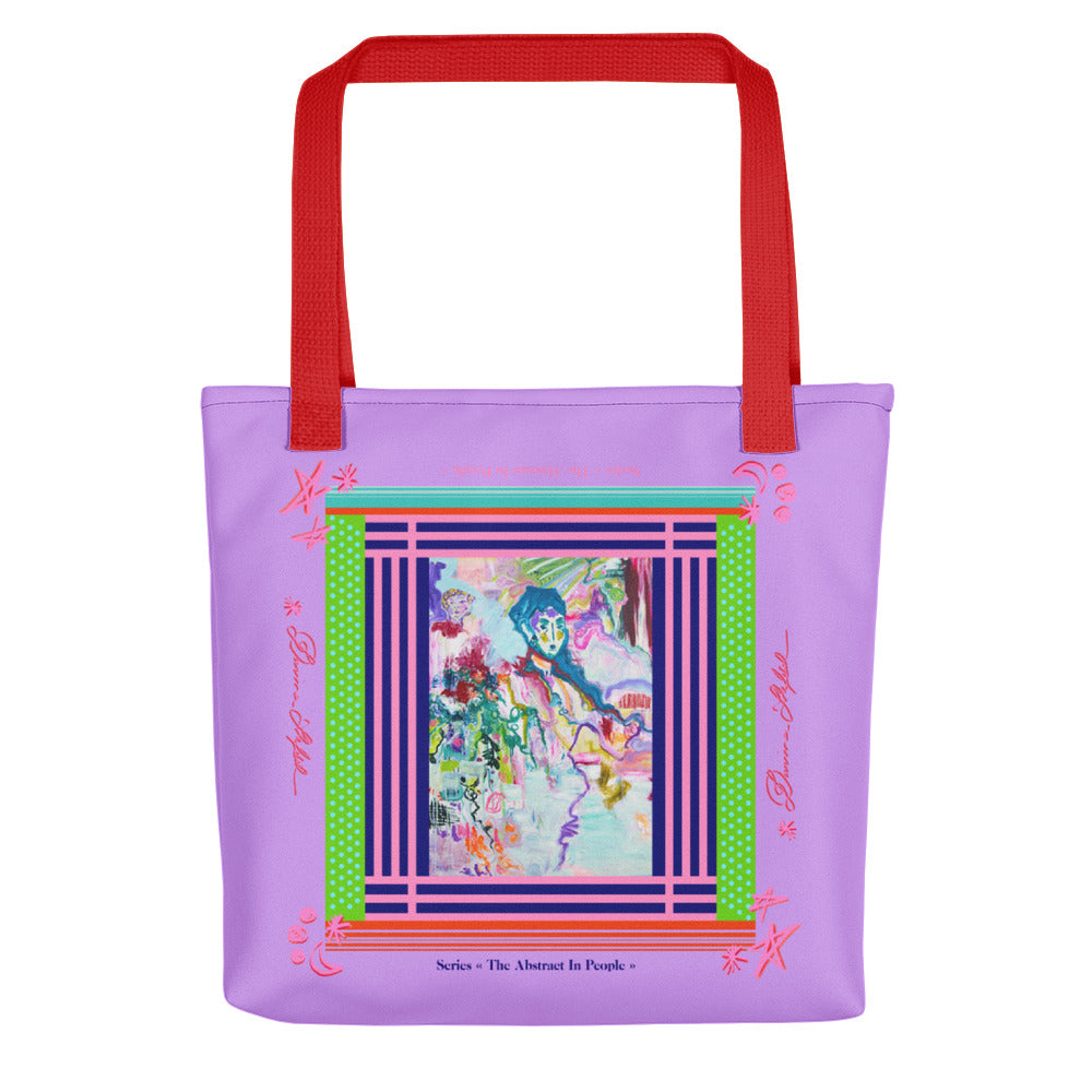 Tote bag - Two Colors Handle