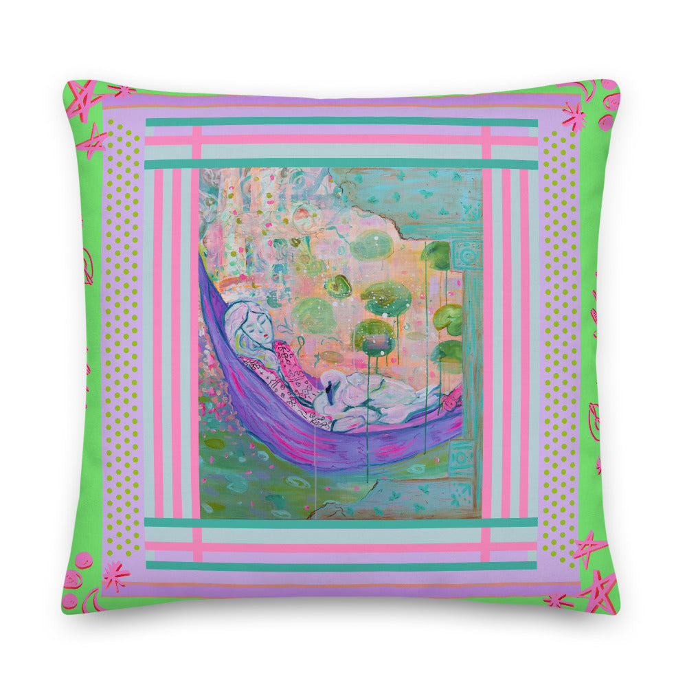 Premium Pillow with Filling - Bohemian Palace