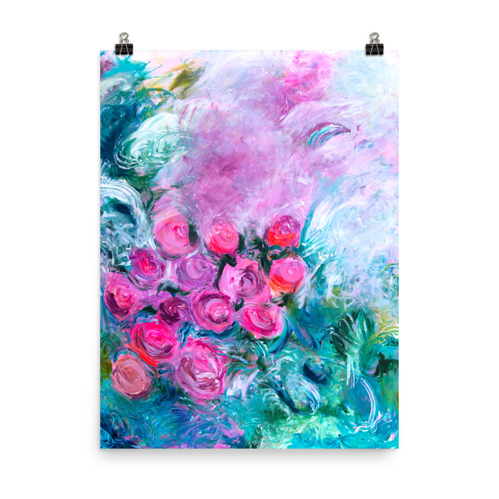 Flower Art Print - Davina Shefet Art Store