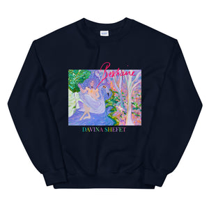 "Unisex Sweatshirt ""First there was magic"""