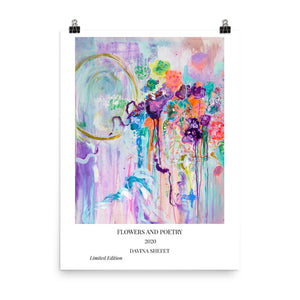 Abstract Art Print with title