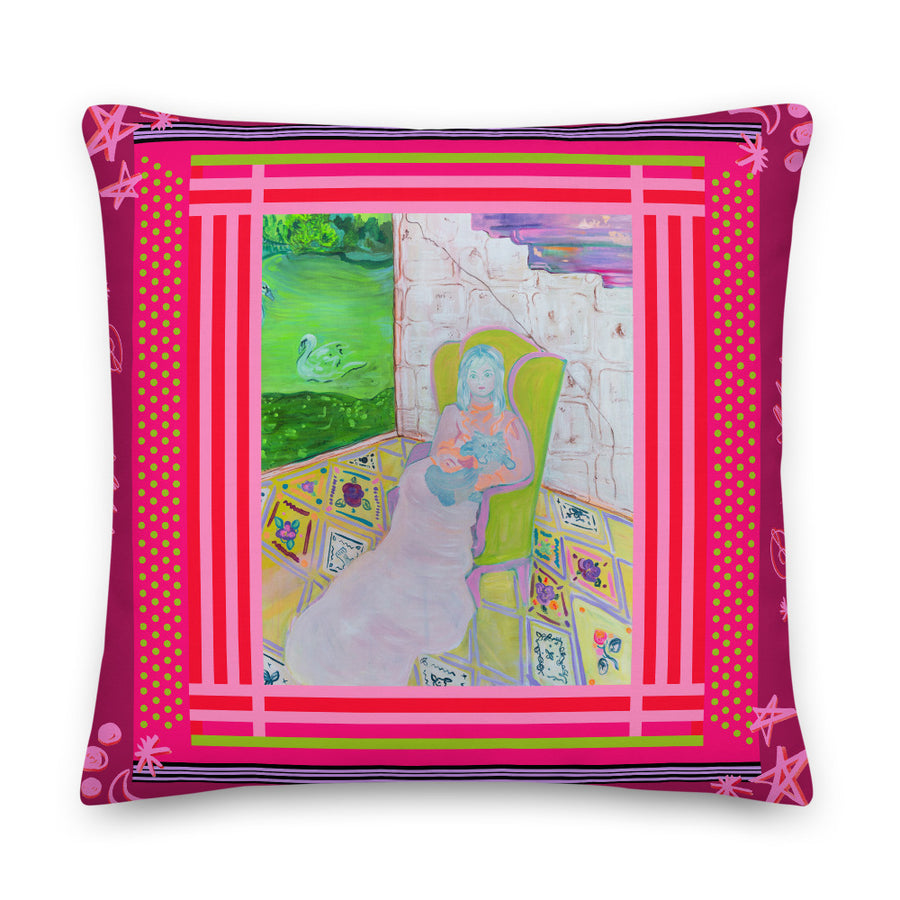 Square Pillow -  The Bohemian Palace