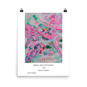 Contemporary Art Print With Title