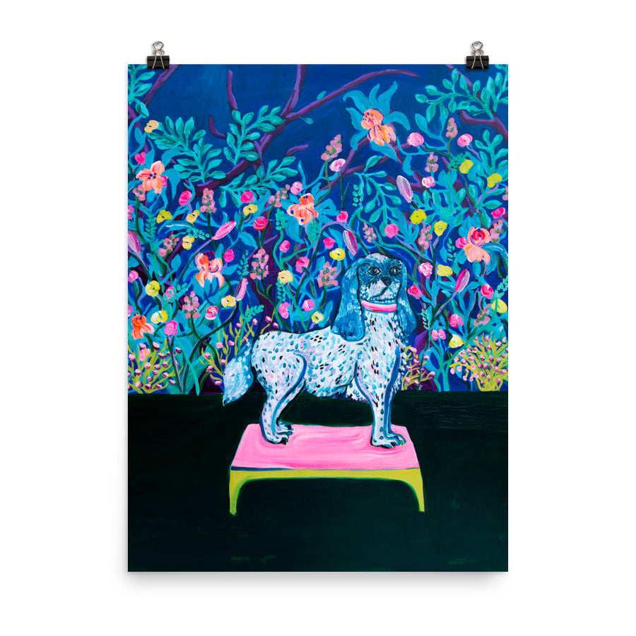 Art Print Royal Puppy - Davina Shefet Art Store