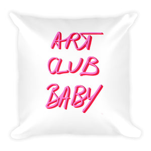 "Big Square Pillow ""The Artist"""