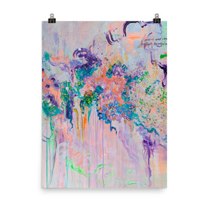 Abstract Art Print, Matte Paper