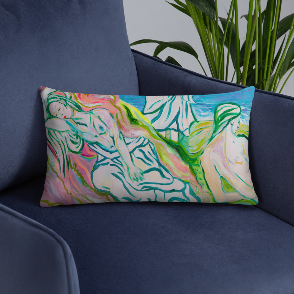 Pillow + Filling, Square and Rectangle Option - Davina Shefet Art Store