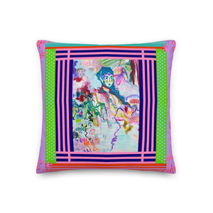 Premium Pillow - Series The Abstract in People