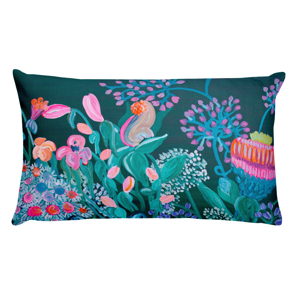 Pillow with filling, 2 sizes - Davina Shefet Art Store