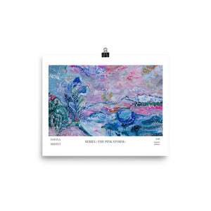 Art Print, Contemporary Art, Abstract Landscape