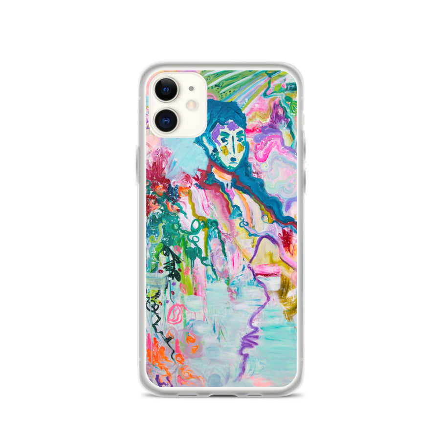 "iPhone Case ""Abstract in People"" Series - Davina Shefet Art Store"