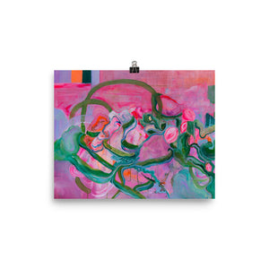 "Art Print ""Botanical Entanglement"""