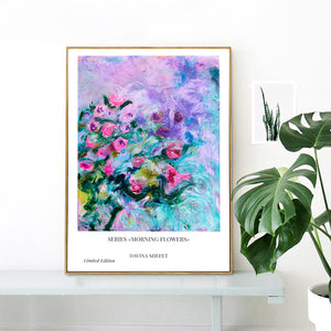 Poster Of Impressionist Flowers