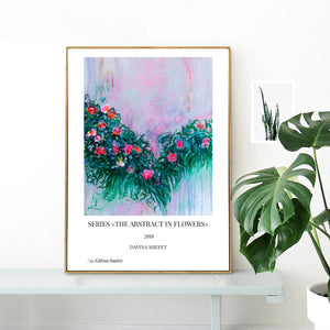 Art Print of Abstract Flowers