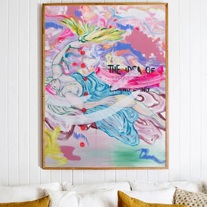 "Art Print of ""The Idea Of Love"""