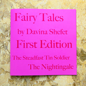 Art Book Illustrating Fairytales by HC Andersen - Davina Shefet Art Store