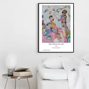 Art Print of Expressionist Painting, Contemporary Portrait - Davina Shefet Art Store