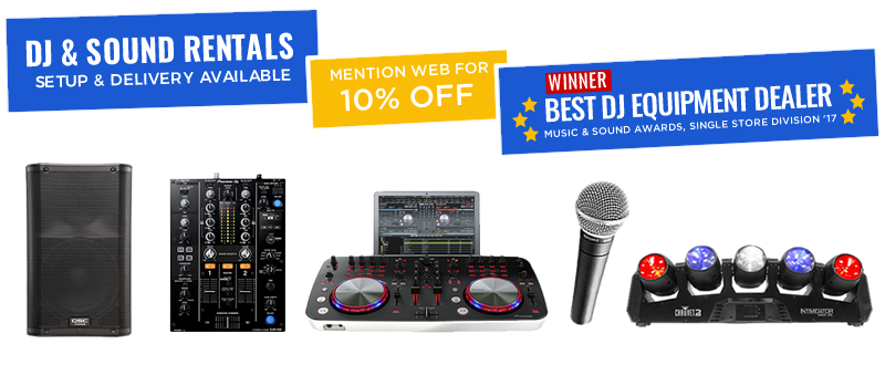 Speaker, Sound & DJ Equipment Rentals NYC - Affordable