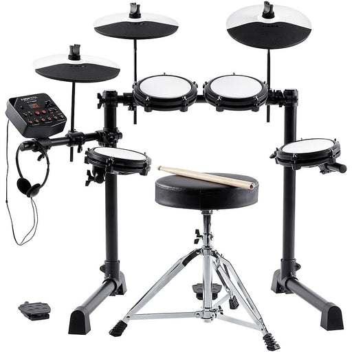 Alesis E-Drum Total Mesh Head Electronic Drum Kit Bundle - Rock and Soul DJ Equipment and Records