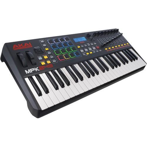 Akai MPK249 - Performance Keyboard Controller - Rock and Soul DJ Equipment and Records