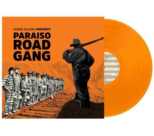 Ruben Blades - Paraiso Road Gang [LP] (Orange Vinyl, limited) - Rock and Soul DJ Equipment and Records