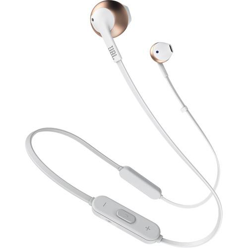 JBL TUNE 205BT Wireless Bluetooth Earbud Headphones (Rose Gold) - Rock and Soul DJ Equipment and Records
