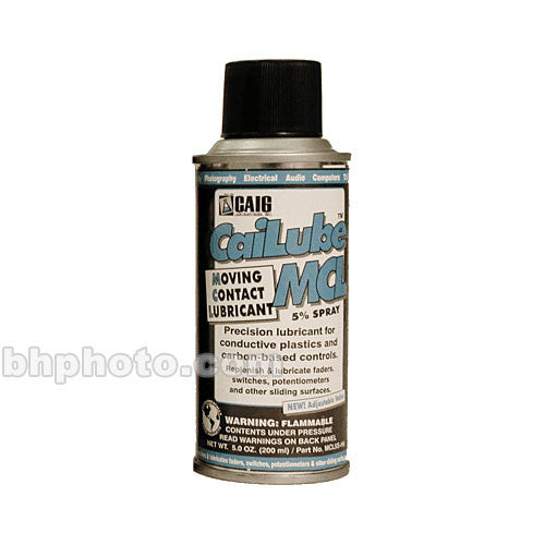 Hosa Technology Cai-Lube Fader Lubricant Spray (5 oz) - Rock and Soul DJ Equipment and Records