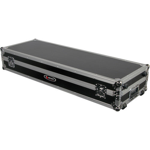 "Odyssey Flight Zone Glide-Style DJ Coffin for 12"" Mixer & Two Turntables - Rock and Soul DJ Equipment and Records"
