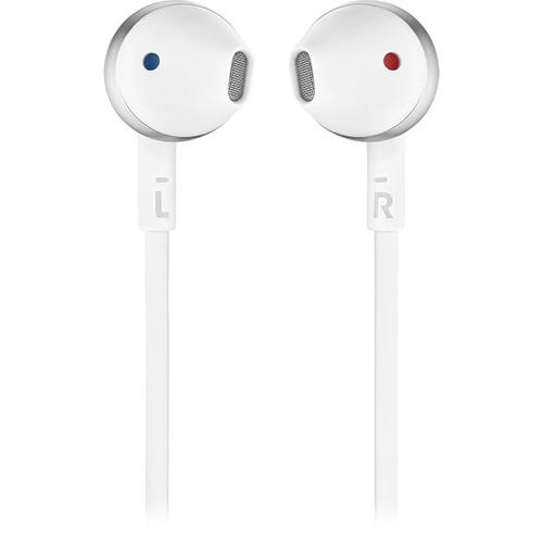 JBL TUNE 205BT Wireless Bluetooth Earbud Headphones (Silver)