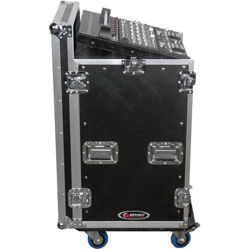 Odyssey Innovative Designs FZ1116W Flight Zone ATA Combo Rack Case